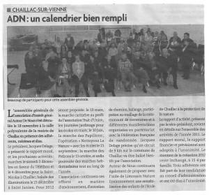 Assemblée générale de ADN 2011- Le Nouvelliste