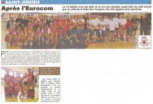 Participation ADN à l'Eurocom basket 2014-la petite abeille