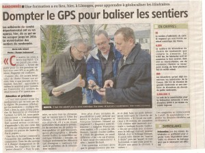 Formation GPS - le populaire Mars 2013