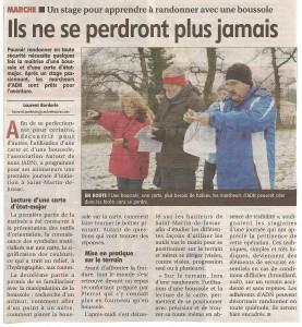 Initiation Boussole janvier 2012- le populaire