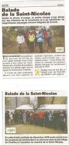 Marché de la St Nicolas Chaillac- la nouvelle abeille 2012