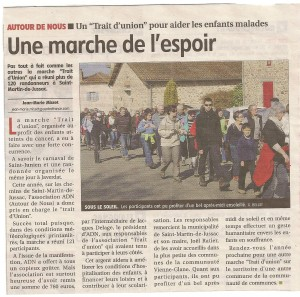Article trait d'Union 2013-le populaire